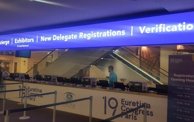 And we're open...EURETINA 2019 Congress!! #EURETINA #RetinaSpecialists #Paris #Palaisdescongress